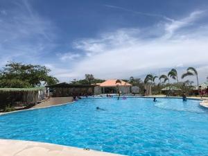 Stilts pool